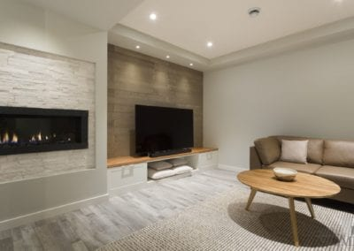 Warm and Inviting Basement Development