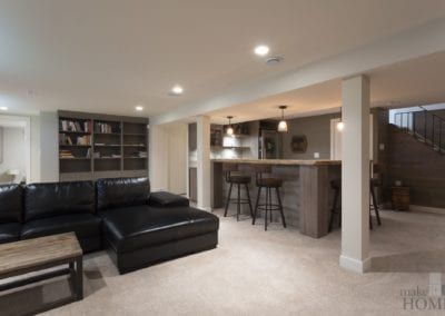 Adding Value with Basement Reno2017 MHBA Renomark Award