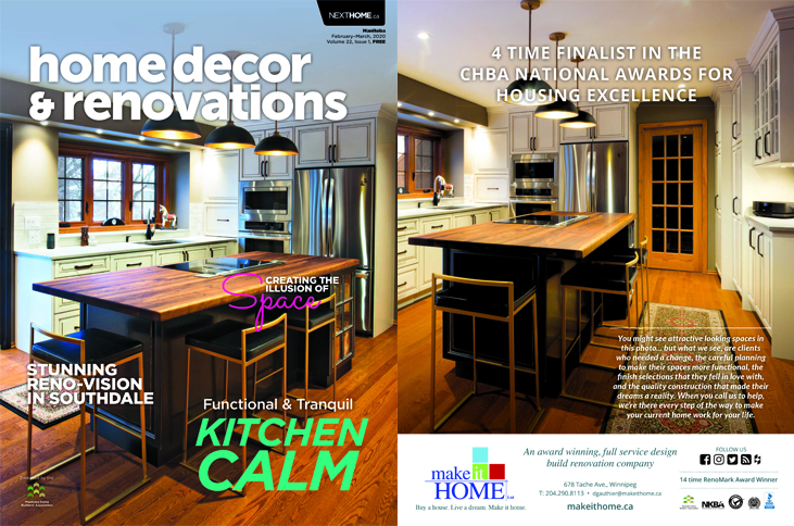 Home Decor & Renovation February/March 2020 Issue