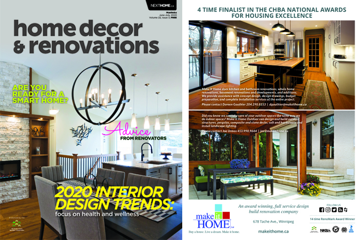 Home Decor & Renovations June/July 2020 Issue